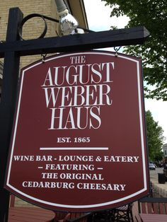 The August Weber Haus in Cedarburg, WI