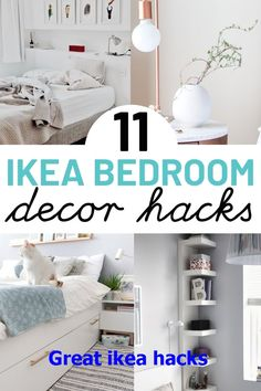diy furniture hacks 11 IKEA hacks for bedroom. These IKEA hacks are great for anyone on a budget looking to transform your bedroom. Including IKEA Kullen nightstand hack, IKEA chest of drawers hack and IKEA midcentury hack ideas. Cama Ikea, Ikea Hacks, Ikea Bed Hack, Ikea Kallax Hack, Hacks Diy, Ikea Bedroom Furniture, Ikea Furniture Hacks, Diy Furniture, Home Decor