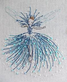 Ballet girl - My WordPress Website satin stitch flower with pisti Red thread – embroidery and needlework - embroidery Beauty and Things (амигуруми, ^ Is this embroidery design amazing, or what? Sewing Stitches, Hand Embroidery Stitches, Embroidery Hoop Art, Crewel Embroidery, Hand Embroidery Designs, Embroidery Applique, Cross Stitch Embroidery, Embroidery Ideas, Diy Broderie