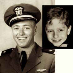 """Parents were disturbed when their two-year-old son began screaming out phrases like, """"Plane on fire! Little man can't get out!"""" during nightmares. James revealed extraordinary details about the life of former fighter pilot James Huston. He said his plane had been hit by the Japanese & crashed. James also told his father the name of the boat he took off from, Natoma, & of someone he flew with, Jack Larson. Both the Natoma & Jack Larson were real. #weird #bizarre #strange #reincarnation"""