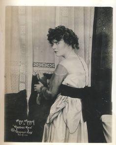 << RARE Original  1916   Mae MARSH   Publicity Silent MOVIE   Photo >>>