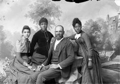 1897 photo of African American family courtesy of the Denver Public Library's digital collections