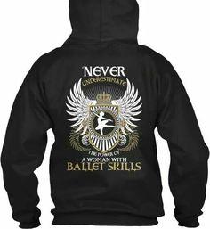 Ballet skills hoodie