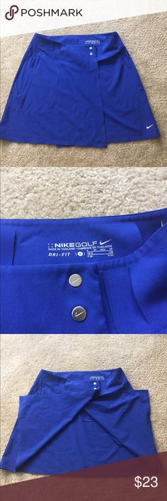 Cute Nike Golf Skirt! Sparsely used size 2 Nike Golf skirt. Nike Skirts