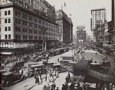 Times Square in 1922