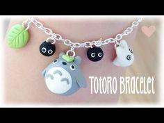 DIY Totoro Bracelet from Polymer Clay Kawaii Tutorial - YouTube