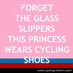 I am a princess WITH cycling shoes ! J-Po
