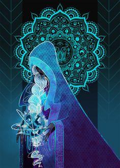 Steven Universe- Blue Diamond