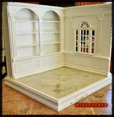 Regent Miniatures: 1:6 Scale Room Box with Library coming to eBay