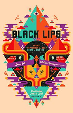 Black Lips - Jean-eric - Walker Yancey And Furcoats