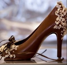 High heels that melt in the heat mmmmm