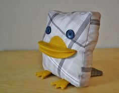 scrapped animal: duckbill platypus free pattern from yellow spool