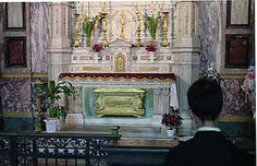 Resting place of saint dominic savio