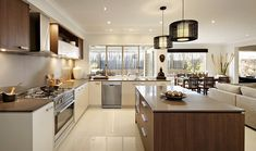Browse the various new home designs and house plans on offer by Carlisle Homes across Melbourne and Victoria. Find a house plan for your needs and budget today! Beautiful Kitchen Designs, Beautiful Kitchens, Beautiful Homes, Black Kitchens, Home Kitchens, Kitchen Black, Kitchen Layout, Kitchen Decor, Kitchen Ideas