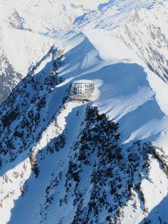 Nid douillet -- Le Refuge du Gouter, Alpes - France