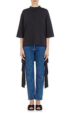 We Adore: The Tie-Hem Cotton T-Shirt from Balenciaga at Barneys New York