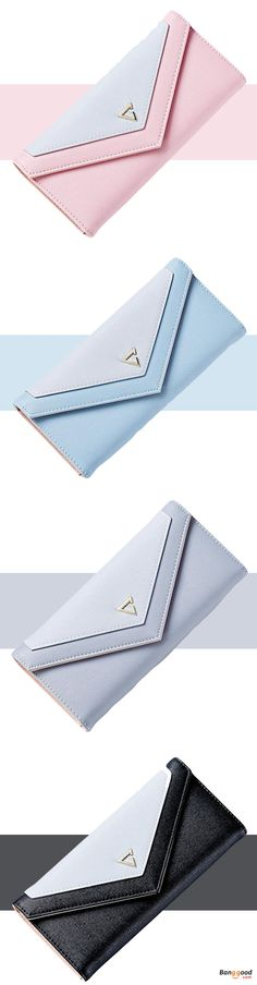 US$7.99 + Free shipping. Envelope shape design, unique and fashion. Ideal for putting ID card, Credit card, cash, coin, etc. You can simply hold it on hand or put it in bag. #purses #handbags #bags #wallet #forsale #ladiespurse #handbagsonline #pursesforwomen #popular #satchels #bagshop #black #pink #blue #grey