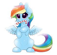 Cute Rainbow Dash fanart