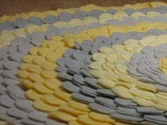Gray and Yellow Fleece Precision- cut,Professionally Engineered , Large Round… Baby Elephant Nursery, Rose Nursery, Yellow Nursery, Nursery Rugs, Nursery Neutral, Girl Nursery, Dream Baby, Circle Rug, Baby Sister