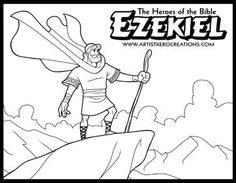 The Heroes of the Bible Coloring Pages: Moses