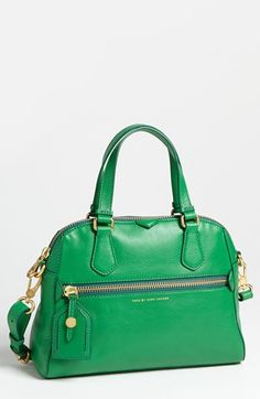 MARC BY MARC JACOBS Globetrotter - Mini Rei Leather Satchel   Nordstrom