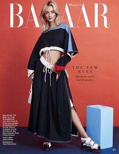 Harper's Bazaar March 2017 Maartje Verhoef by Victor Demarchelier