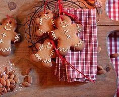 Lebkuchenmännchen - Deko zu Weihnachten basteln 3 - [LIVING AT HOME]
