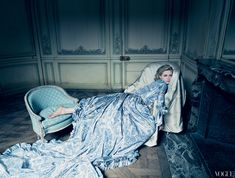 Kirsten Dunst as Marie Antoinette. Vogue