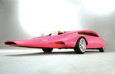 Pink concept car