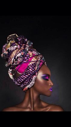 These colours!!!! Beautiful Afro tribal style