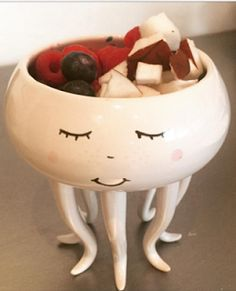 This is too stinking cute! Candy bowl.,