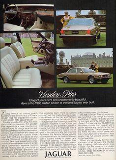 1984 Jaguar xj6 Ad.
