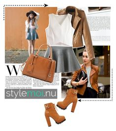 """""""""""Stylemoi"""" Contest #3"""" by excogitatoris ❤ liked on Polyvore featuring Stop Staring!"""