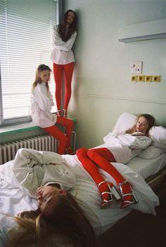 Friday nights @ the girlschool! Michal Pudelka ~ Editorials ~ Transhumanism editorial