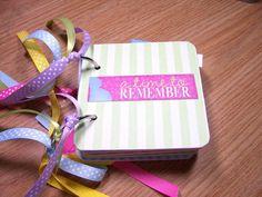 Pregnancy Mini Album Chipboard Scrapbook by HampshireRose on Etsy, $30.00