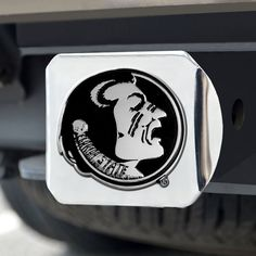 """Florida State Hitch Cover 4 1/2""""x3 3/8"""""""