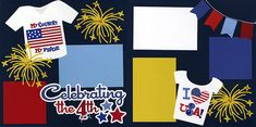 Celebrating The 4th Printed Page 0717 | Out On A Limb Scrapbooking