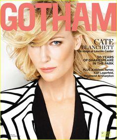 Cate Blanchett Covers 'Gotham' Summer 2012