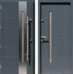 Drzwi wejściowe do domu z katalogu inox wzór 475,4-475,14