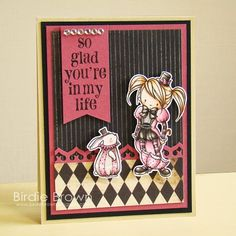 So Glad You're In My Life by Torico - Cards and Paper Crafts at Splitcoaststampers Digital Stamps, Clear Stamps, I Card, Cardmaking, Paper Crafts, Crafty, My Favorite Things, Handmade Cards, Frame