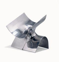 Joyeria contemporánea 60's. Gijs Bakker: collar armadura en aluminio
