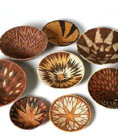 Ilala Palm baskets from Zambia