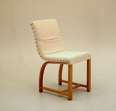Gilbert Rohde EARLY dining vanity chair by EamesInteriorDesigns
