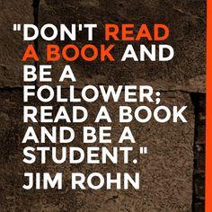 Study to grow, not follow!