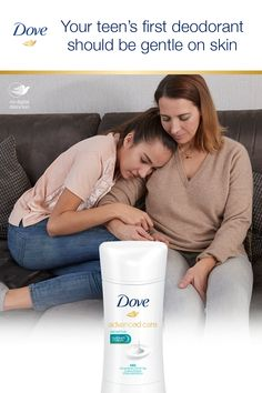 Your daughter's sensitive skin needs a gentle touch. Dove Advanced Care Sensitive Deodorant has alcohol and ¼ moisturizers to care for her sensitive skin. Dove Deodorant, Insta Makeup, Makeup Junkie, Sensitive Skin, Makeup Tips, Teen, Skin Care, Moisturizers, Lotions