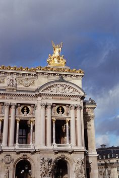 The Palais Garnier is an opera house in Paris, France, built from 1861 to 1875. Learn more about the city here!