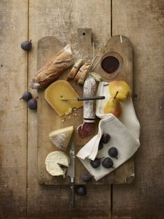 Anita Calero shot this beautiful food still life for Port 8, out 13/12/12