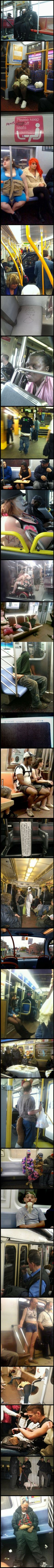 S**t you see on public transport never gets boring