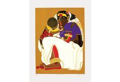 Art Print by T Vaikuntam in 50 Colours on Paper. Famous Indian Artists, Female Characters, Disney Characters, Fictional Characters, Screen Printing, Colours, Paintings, Art Prints, Disney Princess