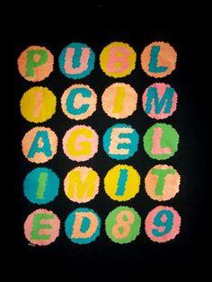 Genuine Vintage Public Image Limited 1989 Promo tour concert T-shirt